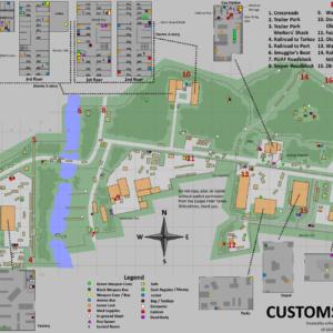 Escape From Tarkov Customs Map EFT